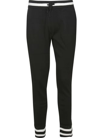 Dolce & Gabbana Contrast Trim Track Pants