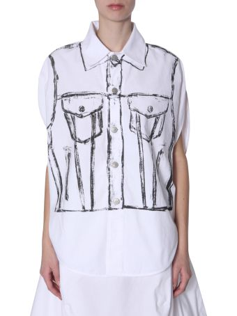 MM6 Maison Margiela Sleevless Shirt