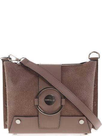 Marc Ellis Berenice Shoulder Bag In Phard Suede