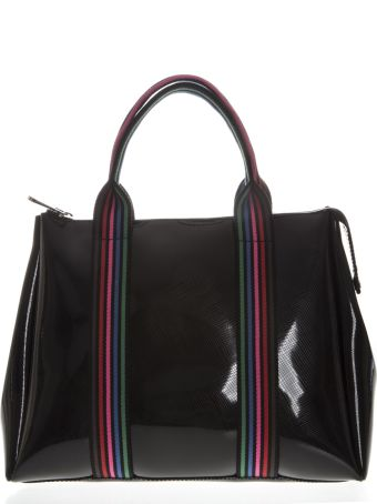 Gianni Chiarini Black Fourty Hand Bag With Shoulder Strap