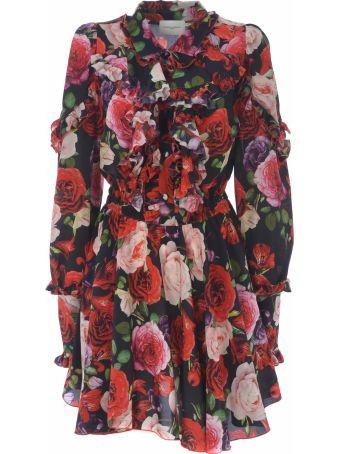Giuseppe di Morabito Floral Flared Dress