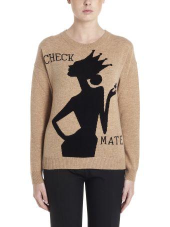 Boutique Moschino 'check Mate' Sweater