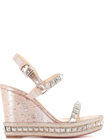 "Christian Louboutin Wedge ""pyradiams"""