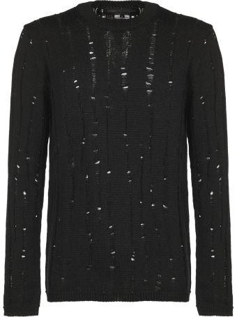 Comme Des Garçons Homme Plus Distressed Sweater