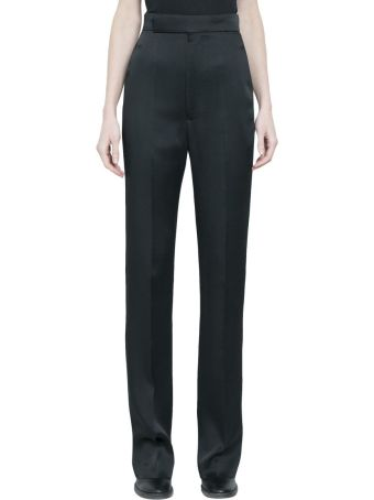 Haider Ackermann Kuiper Black High Waist Trousers