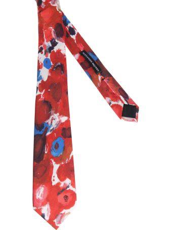 Alexander McQueen Palette Tie