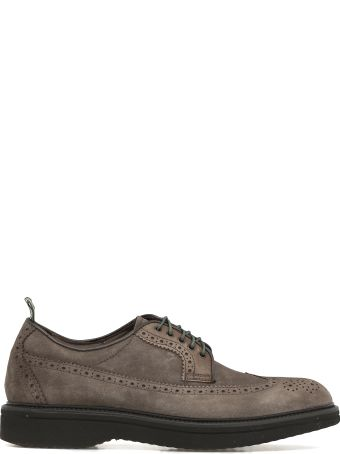 Green George Suede Lace-up Shoe