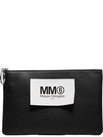 MM6 Maison Margiela Logo Patch Clutch