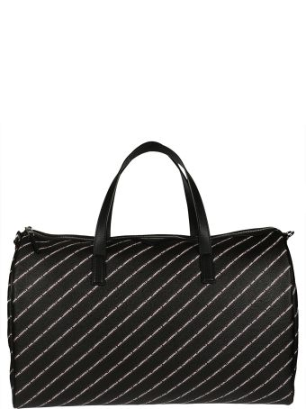 Karl Lagerfeld Stripe Logo Holdall