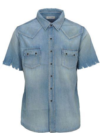 Saint Laurent Shirt Denim Mm