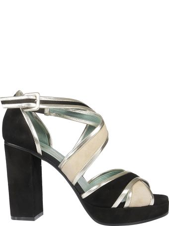 Paola D'Arcano Criss-cross Strap Sandals