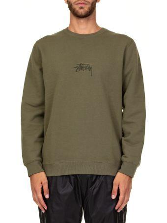 Stussy Stock App. Crew Cotton Sweatshirt