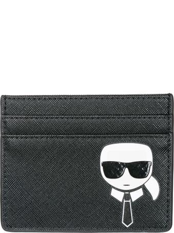 Karl Lagerfeld  Credit Card Case Holder Wallet K/ikonik