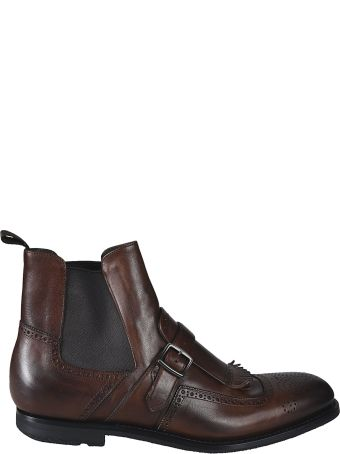 Church's Buckle Ankle Boots