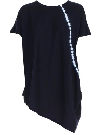 Y's T-shirt S/s Over Asymmetric
