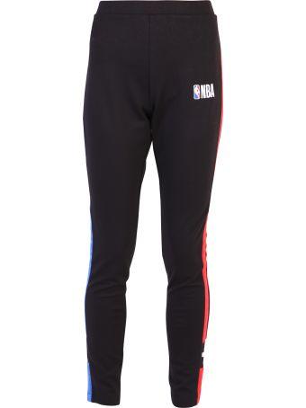 Marcelo Burlon Black Track Pants