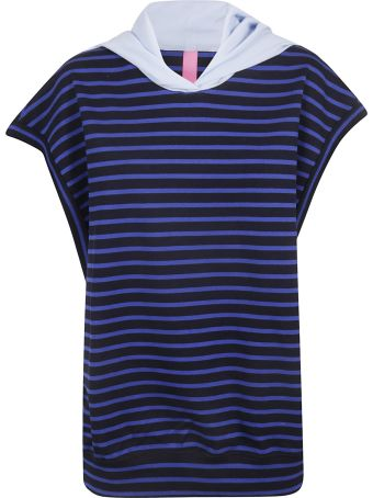 Y's Striped Print Top