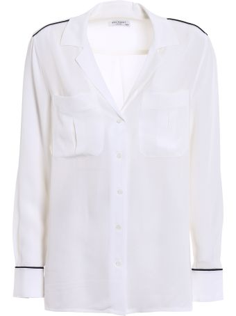 Equipment Sonny Silk Pajama Shirt