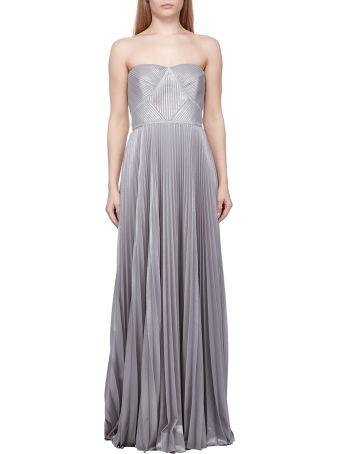 Marchesa Notte Pleated Dress