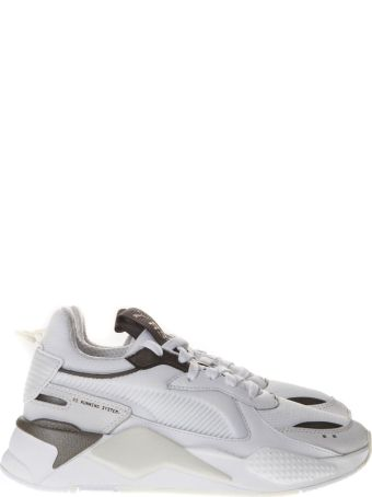 Puma Select Puma Rs X Trophy White Mesh Sneakers