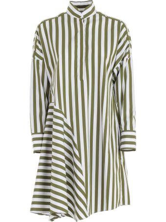 Akris Punto Flared Shirt Dress