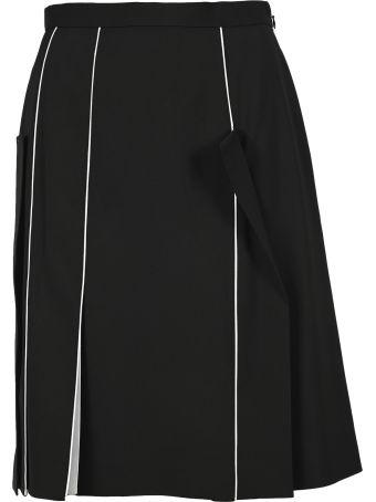 Burberry London Piping Detail Skirt
