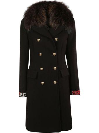 Bazar Deluxe Fur-trimmed Coat