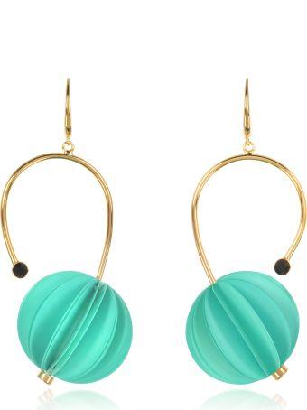 Marni Mint Resin Earrings