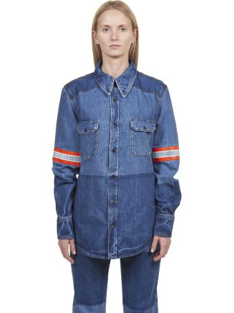 Calvin Klein Stripe Detail Shirt