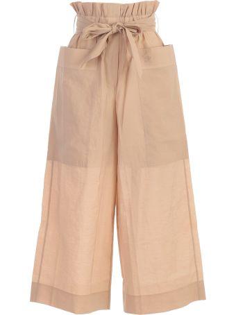 Nanushka Ines Poplin Trousers