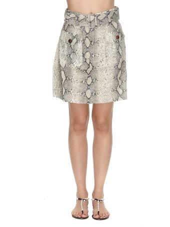 Zimmermann Corsage Safari Mini Skirt