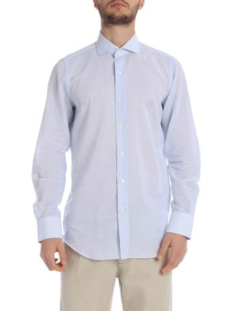 Finamore Shirt Cotton And Linen