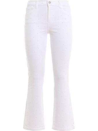 J Brand Selena Crop Bootcut Jeans