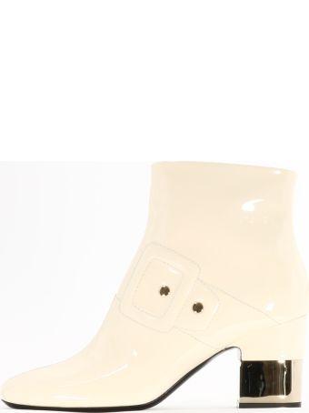 Roger Vivier White Ankle Boot
