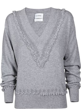 Barrie Fringed Sweater