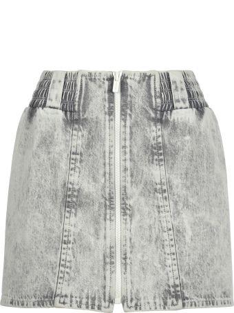 Miu Miu Mini Skirt Zip