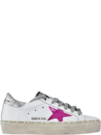Golden Goose Deluxe Brand Hi-star Sneakers