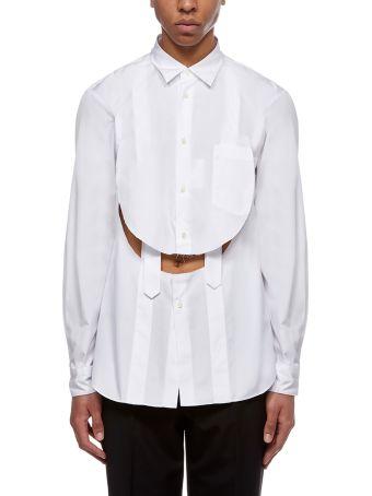 Comme Des Garçons Homme Plus Cutout Detail Shirt