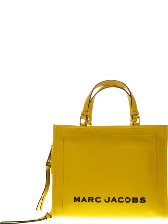 Marc Jacobs The Box Yellow Leather Bag