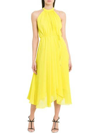 Saloni Iris Midi Dress