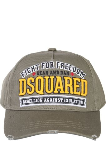 Dsquared2 Baseball Cap With Embroidered Logo