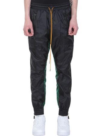 Rhude Black Nylon Pants