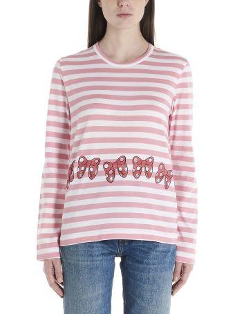 Comme Des Garçons Girl 'minnie Bows' T-shirt