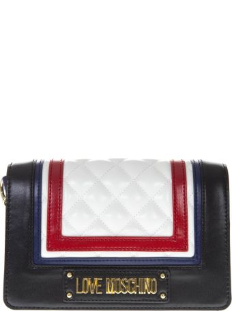 Love Moschino Multicolor Faux Leather Bag With Quilted Detail