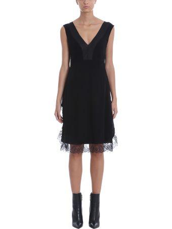 Neil Barrett Black Silk Dress
