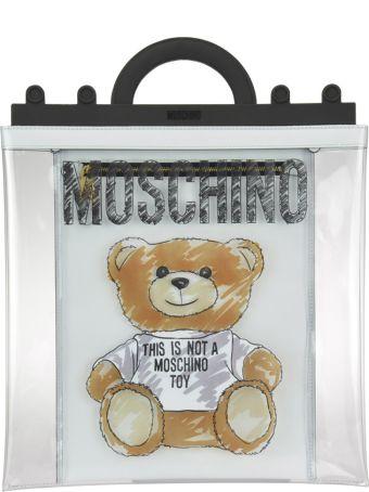 Moschino Brushstroke Teddy Bear Pvc Shopper