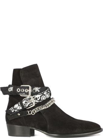 AMIRI Bandana Bluckle Boot