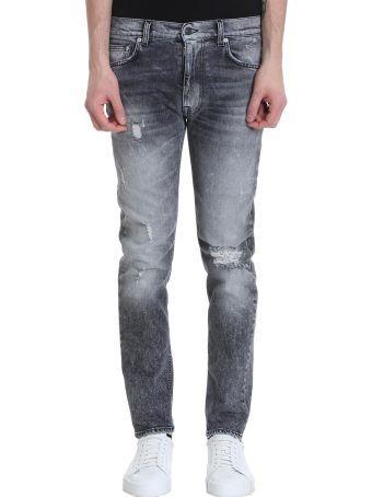 Mauro Grifoni Jude Black Denim Jeans