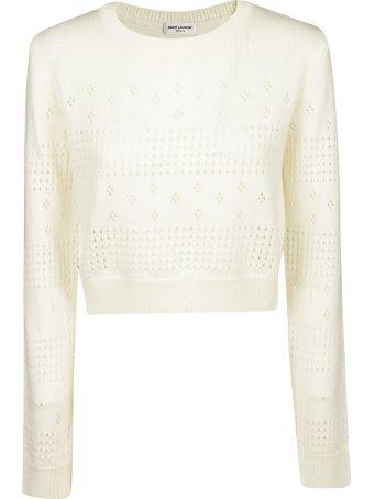 Saint Laurent Patterned Sweater