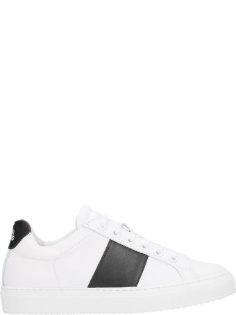 National Standard Edition 4 Black And White Sneakers